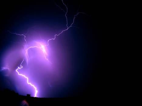 Lightning with GoPro #1