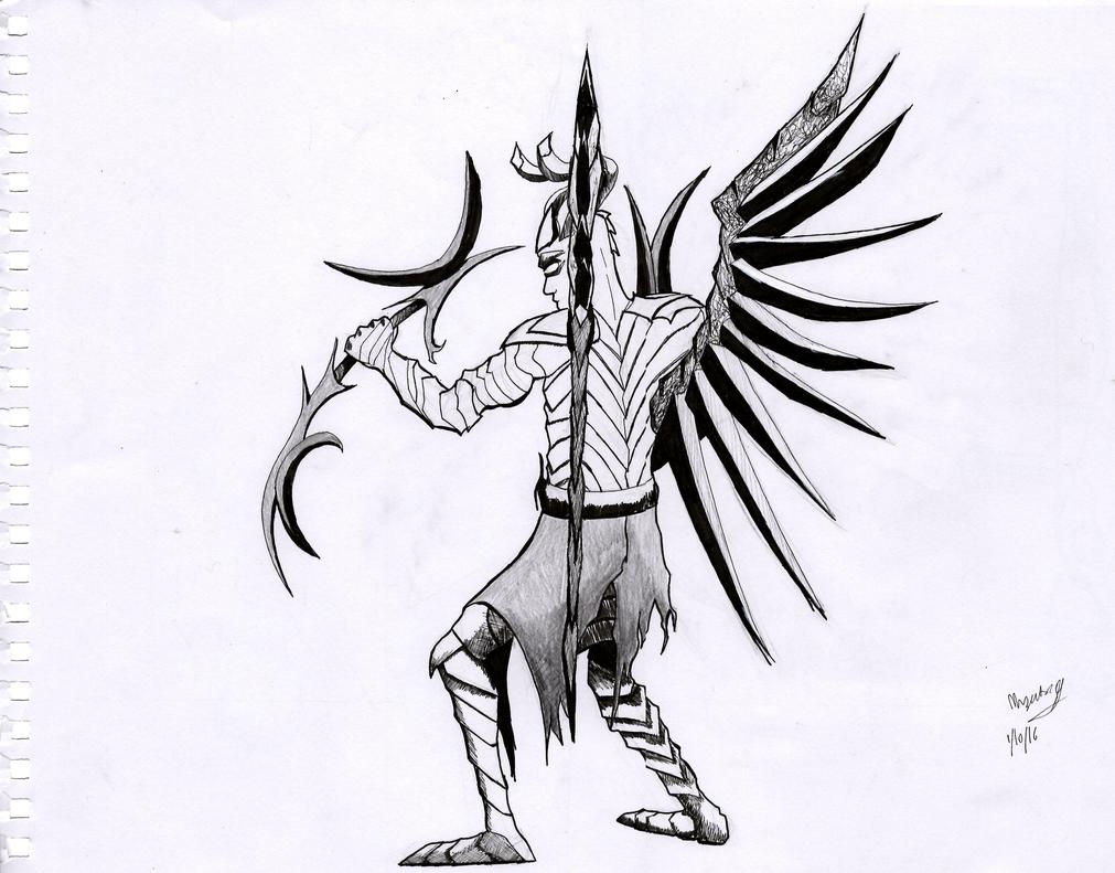 Terrorblade DOTA2 by EnemyoftheSteak