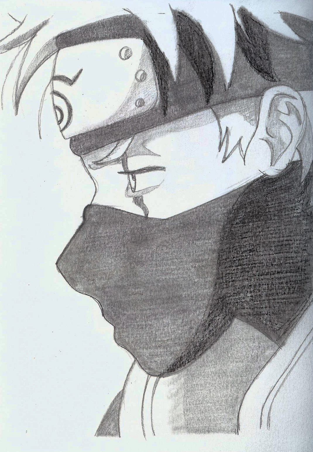 kakashi draw by kellerac kakashi draw by kellerac
