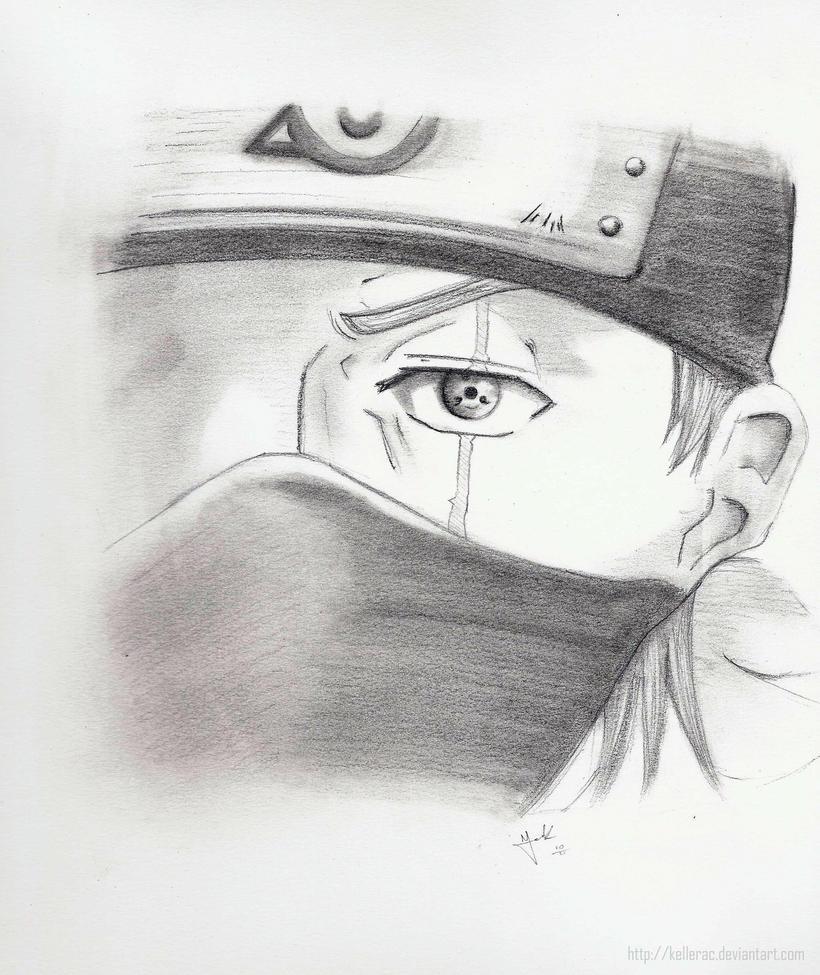 kakashi sketches - 820×974
