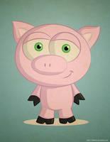 Just a random Pig by KellerAC