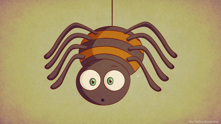 Baby Spider by KellerAC