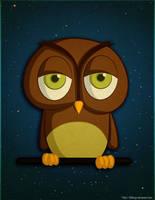 Just a random Owl by KellerAC