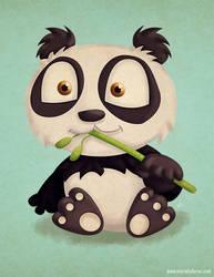 Just a Random Panda by KellerAC