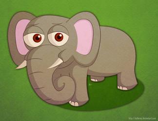 Just a Random Elephant by KellerAC