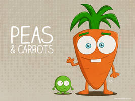 Peas and Carrots by KellerAC
