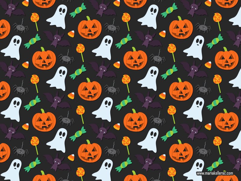 Halloween Pattern by KellerAC on DeviantArt