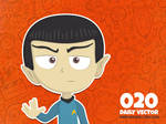 Daily Vector - 020 (Live long and prosper)