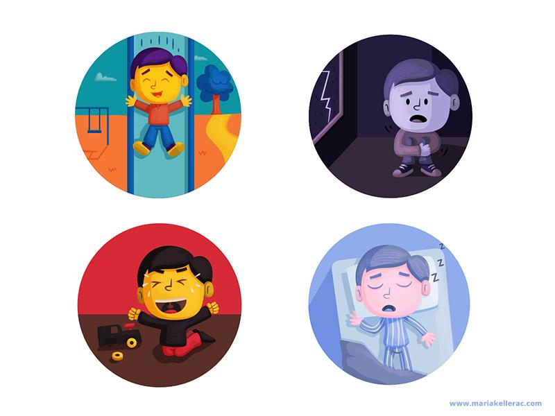 Emotions of a little boy by KellerAC
