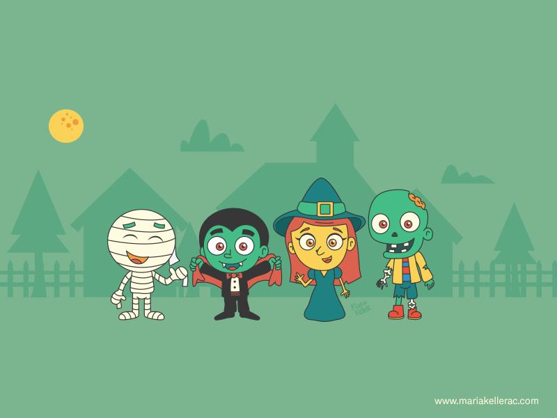 October Monsters by KellerAC