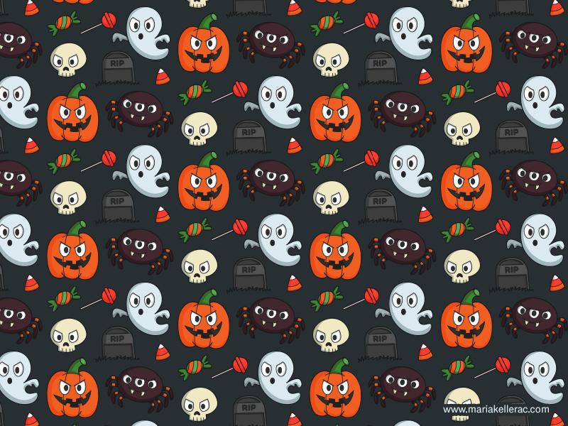 Halloween Pattern For Kids 2014 by KellerAC