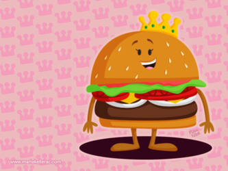 Burger Queen by KellerAC