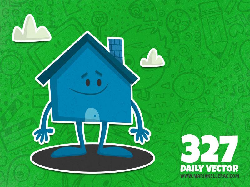 Daily Vector - 327 (House) by KellerAC
