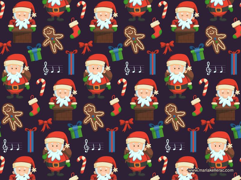 Christmas Pattern 2014 by KellerAC