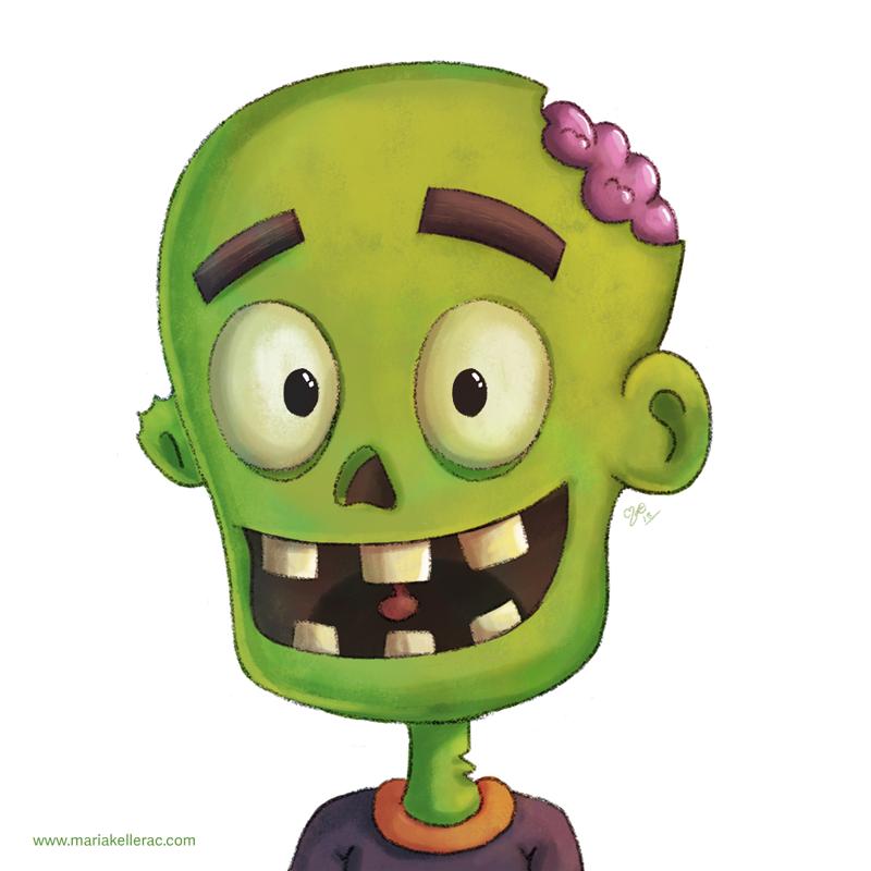 Friendly Zombie by KellerAC
