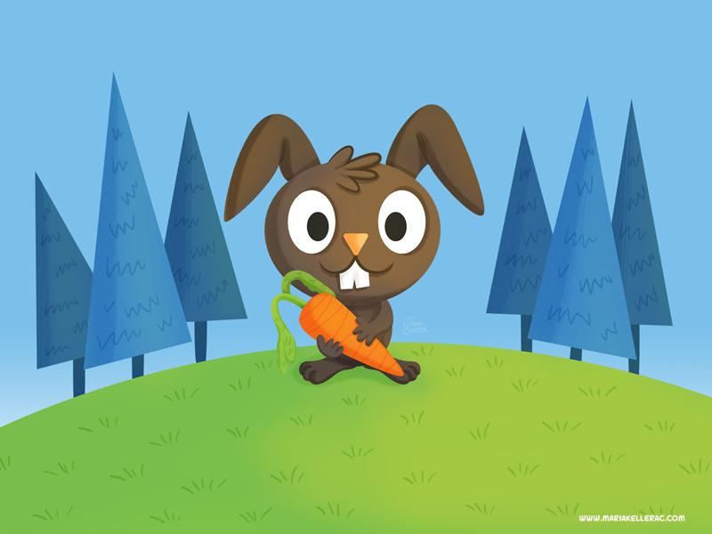 Happy rabbit by KellerAC
