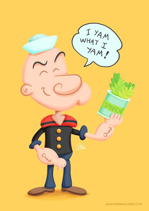 Popeye Fanart by KellerAC