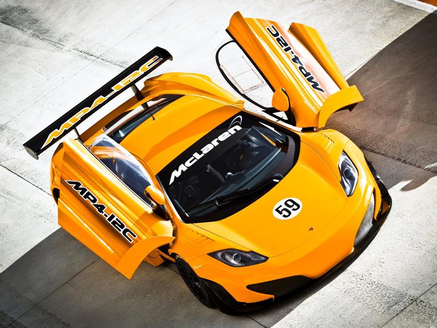 McLaren MP4-12C GT3 by Genieneovo on DeviantArt