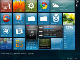 My Windows 8 Mosaic by Genieneovo