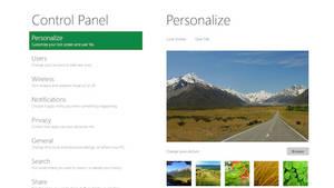 Windows 8 Developer CPanel by Genieneovo