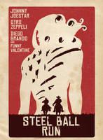 Steel Ball Run Django style. by Cinemasvaro