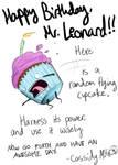 Mr. Leonard b-day card