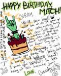 Mitch b-day card