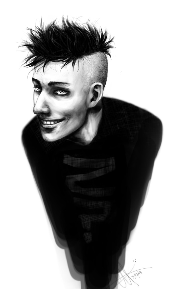 Johnny the Homicidal Maniac by genusarcturus