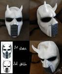 Elijahs' demon mask