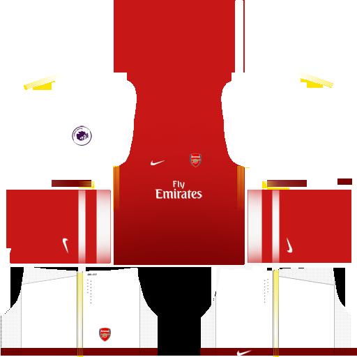 check out 4aa91 41d84 DLS fantasy kit: Arsenal (Se1) - Home Kit by ashlynmichelles ...