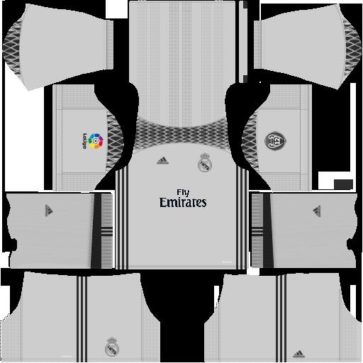 promo code f436e 06054 DLS fantasy kit: Real Madrid (set 1) - GK 3 Kit by ...