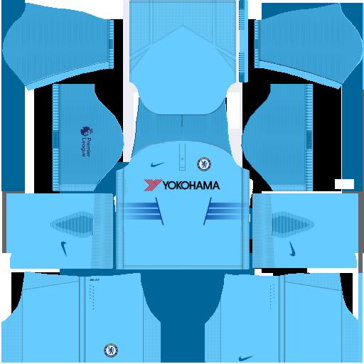 DLS Fantasy Kit: CHELSEA FC (set 1)