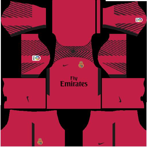 39171c2faa9 DLS: Real Madrid Nike Kit - Gk Home by ashlynmichelles on DeviantArt