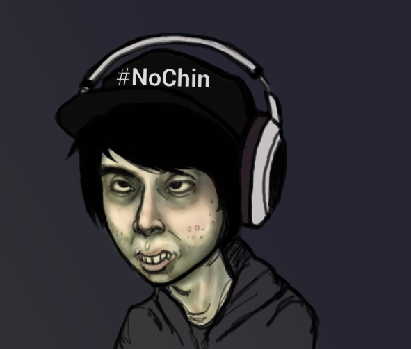 Leafy No Chin by ImmaculateReprobate on DeviantArt