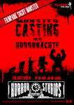 2011 Halloween Monster Casting Event Poster