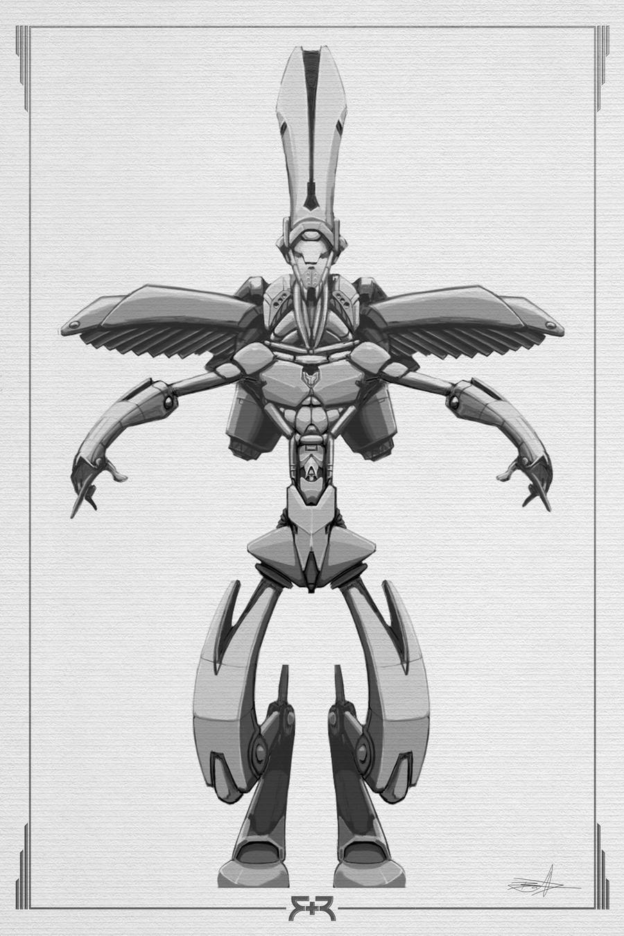 DOODLES - Robots 01 by VR-Robotica