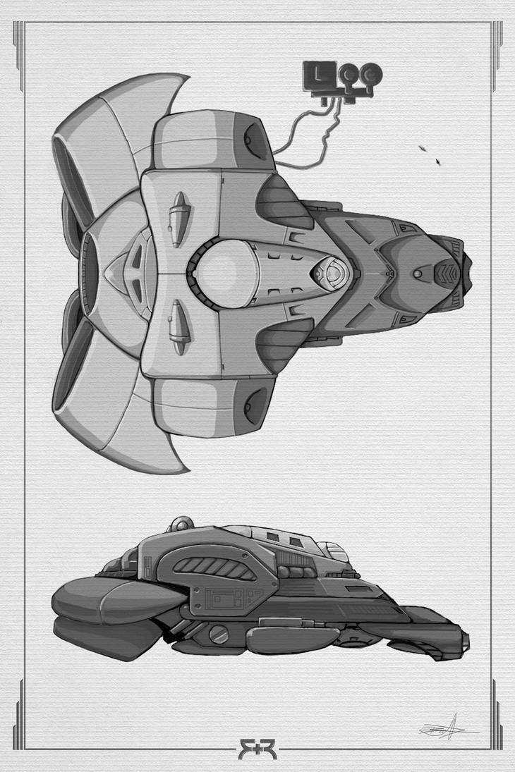 DOODLES - Cargo Ship Concept by VR-Robotica
