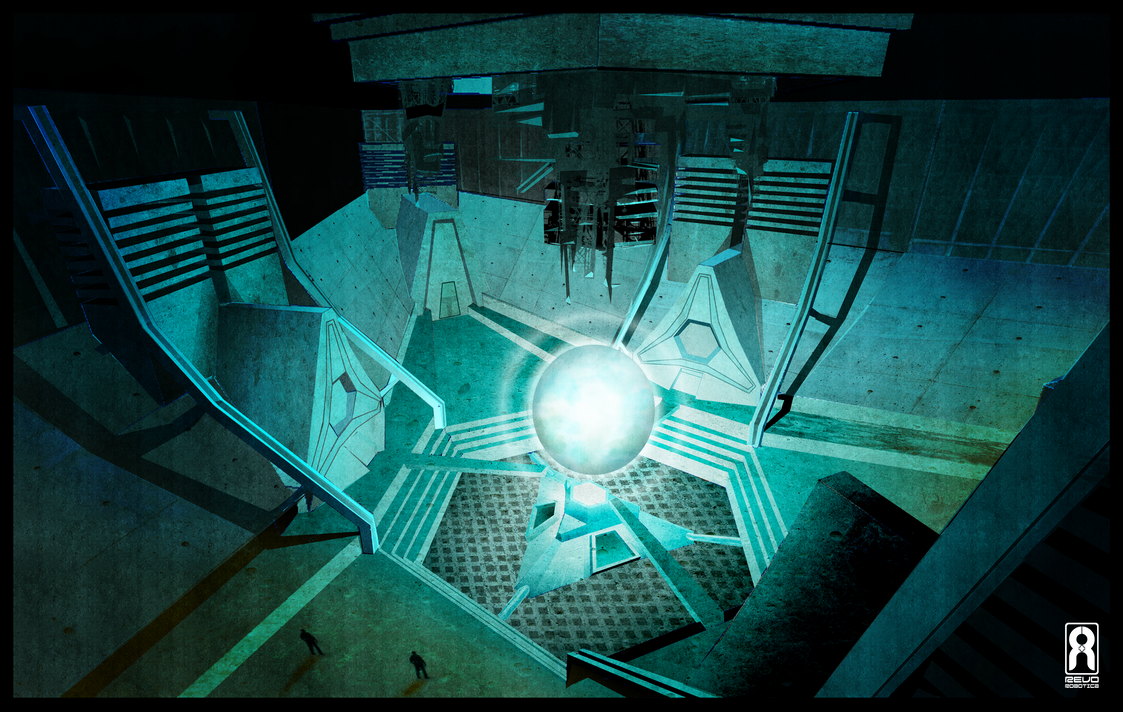 SPEED PAINT - Sci-Fi Interior - The Core by VR-Robotica
