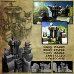 3D SKETCHBOOK - Feng Zhu Environment Practice 02