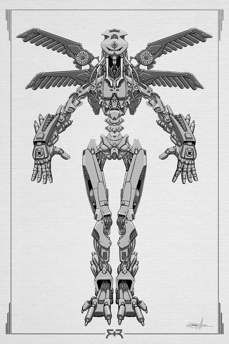 DOODLES - Robots 03 by VR-Robotica