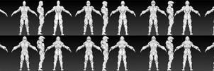 ZBRUSH WIP - SciFi Armor Progess 01