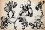 SKETCHBOOK - More Robots