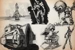 SKETCHBOOK - Even More Robots