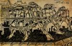 OLD SKETCHBOOK - TMNT Comic Board Sketch - 05