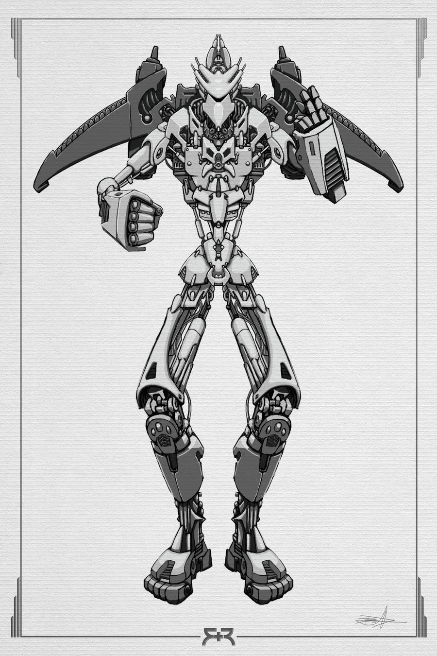 DOODLES - Robots 04 by VR-Robotica