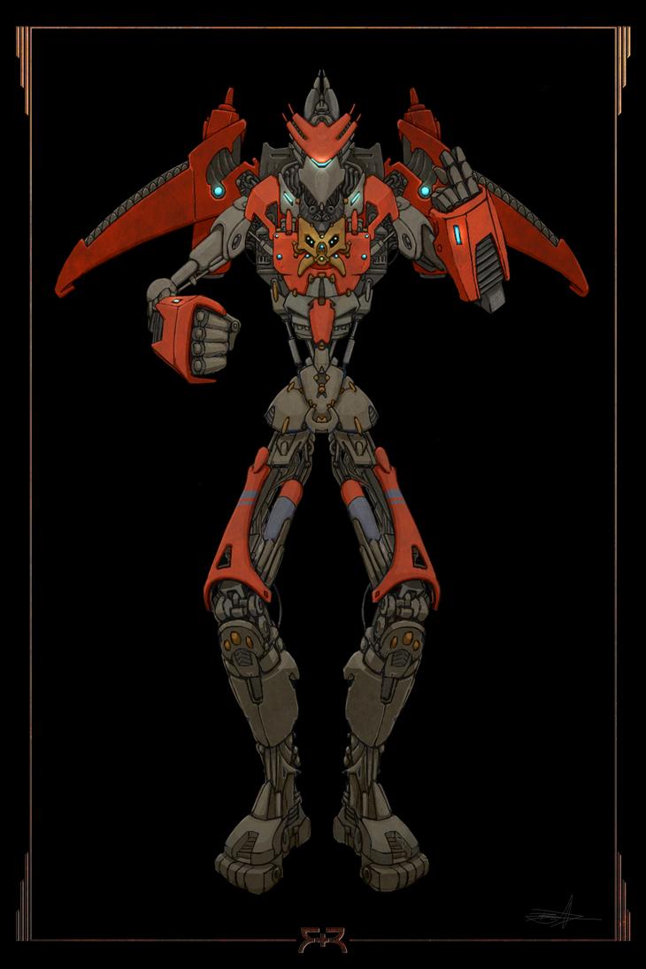 SKETCH - Robots 04a by VR-Robotica
