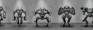DOODLES - Concept Bots by VR-Robotica