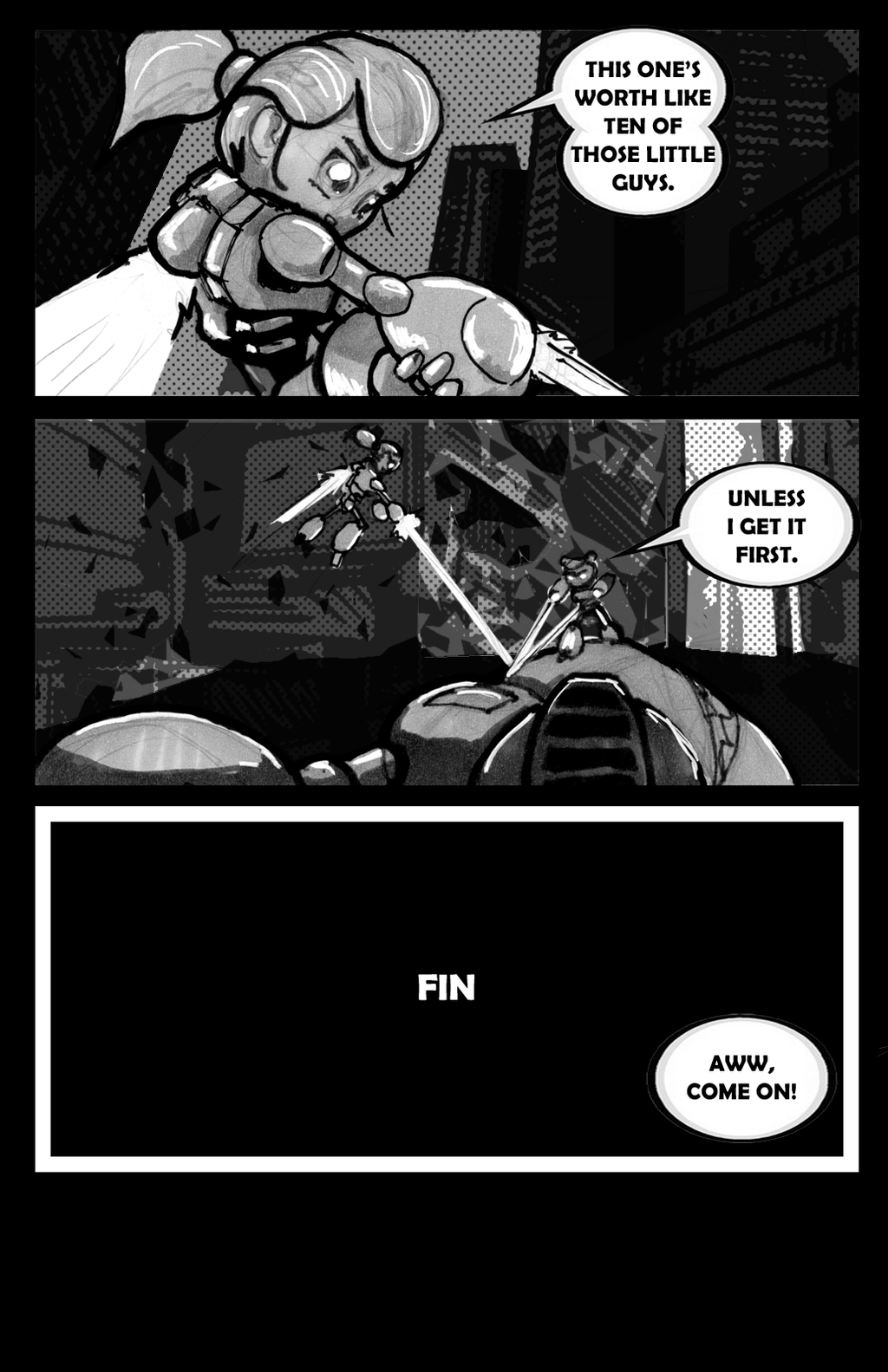 24 Hr Comic Challenge Page 20 by VR-Robotica