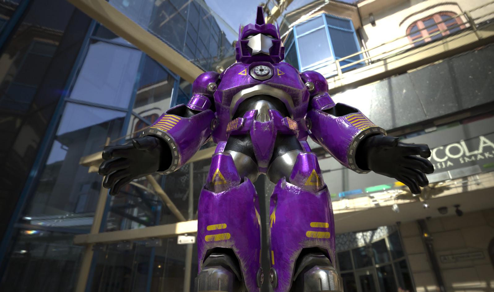 VR-Robotica Avatar for VRChat.net