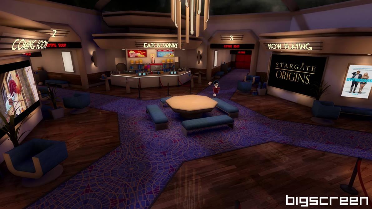 Lobby v1 by VR-Robotica